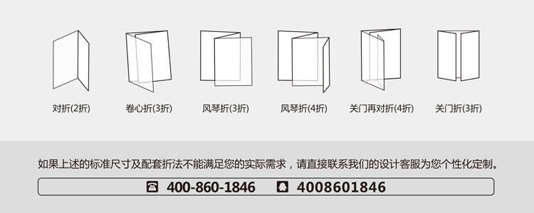 折页的方式有哪些?